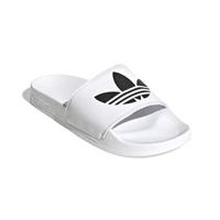 【adidas 愛迪達】男 女 拖鞋 ORIGINALS ADILETTE LITE 柔軟 避震(FU8297)