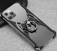 適用于iPhone12 pro max手機殼蘋果11保護套金屬邊框12mini手機套防摔11pro個性超薄金屬x邊框xs保護殼散熱
