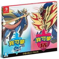 秋葉電玩  NS Switch 任天堂《寶可夢 劍盾同捆包》中文版