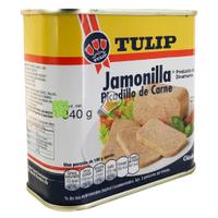 饗食在 午餐肉 丹麥午餐肉 火腿肉 罐頭火腿 午餐肉罐 火鍋 義大利麵 餐肉 好市多 麻辣鍋 Tulip 豬肉 340g
