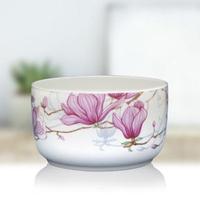 韓國陶瓷微波碗1000ml(木棉花)