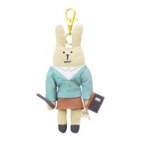 【CRAFTHOLIC 宇宙人】教師兔吊飾(限定款職業系列)
