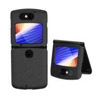 Shockproof Case For Motorola Moto Razr 5G Cover Luxury Genuine Leather Flip Folding Cases For Moto Razr 5G 2020