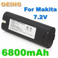 Original 7.2V 6800mAh Power Tool Battery For MAKITA 7033 7002 7000 632003-2 191679-9 192532-2 Cordless Drill tool Battery L10