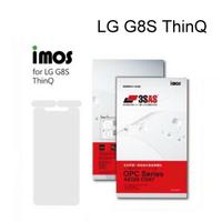 【iMos】3SAS系列保護貼 LG G8S ThinQ (6.2吋) 超潑水、防污、抗刮