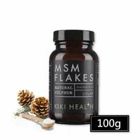 【KIKI-Health 奇奇保健】關鍵首選! 單方MSM有機硫粉100g(有機硫 奇奇保健 寶草園)