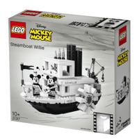 LEGO IDEAS 樂高 21317 汽船威力號 迪士尼米奇蒸汽船