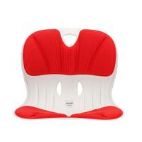 【Curble】Wider 3D護脊美學椅墊-牡丹紅(輔助椅墊)