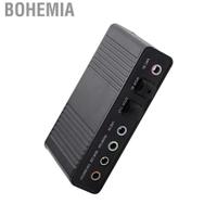 Bohemia 千美6通道聲卡USB外置數字光纖SPDIF ADni