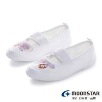 【MOONSTAR 月星】迪士尼系列-蘇菲亞室內鞋(白色)