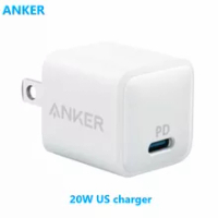 Anker PowerPort PD Nano 20W Travel Wall Charger (A2634J21-4) - White USB C Charger, for Samsung and 12/11, Pixel 4/3, iPad Pro