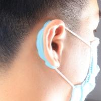 口罩減壓護套 減少耳朵壓力 口罩防勒護耳神器 抗敏矽膠 護耳套 口罩繩減壓器【GF248】 123便利屋