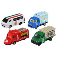【TOMICA】食物餐車車組(小汽車)