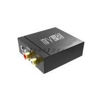 光纖數字同軸音頻轉換器電視接音響SPDIF轉3.5音頻線轉模擬同軸轉蓮花AUX海信PS4小米電視接音箱功放 愛尚優品