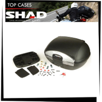 【TL機車雜貨店】西班牙SHAD SH45箱子+靠背+減震墊+YAMAHA SMAX 後箱架