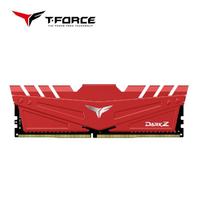【Team 十銓】T-FORCE DARK Z DDR4-3200 16GB CL16 紅色 桌上型超頻記憶體