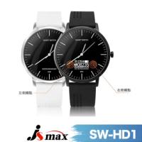 【JSmax】JSmax SW-HD1石英數位混合型智慧健康手錶(石英指針+數位健康管理)