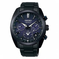 【SEIKO 精工】SEIKO精工 Astron GPS衛星雙時區腕錶(SSH077J1/5X53-0BC0B)