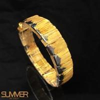 SUMMER滿絲5A財根向上爆發黃金鈦晶手排