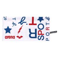 【agnes b.】Sport b. X Arena 海灘巾(白)