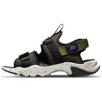 【NIKE 耐吉】涼鞋 男鞋 運動 CANYON SANDAL 黑綠 CI8797-301