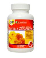 刷卡滿3千回饋5%點數 葉黃素和玉米黃質軟膠囊   照顧眼睛的保健品trunature Vision Complex Lutein & Zeaxanthin, 140 Softgels 