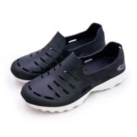 【LOTTO】男 晴雨穿搭戶外休閒運動涼鞋 ROSSA系列(黑 6830)