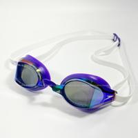 (B8) SPEEDO 成人競技鏡面泳鏡 SPEEDSOCKET 2運動泳鏡 日本製 SD810897F269紫白【陽光樂活】