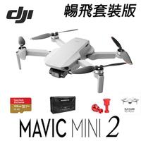 【DJI】Mini2 超輕巧型 4K 空拍機 無人機 公司貨 套裝版 +戶外玩家1年保險組(DJI 空拍機)