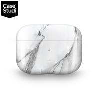 CaseStudi Prismart AirPods Pro 充電盒保護殼-白色大理石