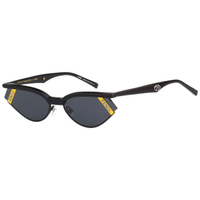 【FENDI 芬迪】GENTLE MONSTER 太陽眼鏡(黑色)