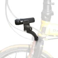 MTB Front Light Mount Bicycle Fork Light archmount Extension Base Flashlight Bracket Extender FOR DAHON Folding Bike