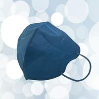 成人3D醫用口罩(單寧青)細耳帶-30入 / 單片包裝