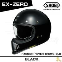 預購商品 任我行騎士部品 SHOEI EX ZERO 山車帽 內鏡片 復古 經典 EX-ZERO 亮黑 可PFS