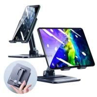 【XUNDD 訊迪】多調節可折疊 12.9以下適用 軍事鎧甲 鋁合金 桌面手機平板支架