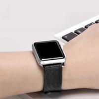 【吉米3C】Apple Watch S6/SE/5/4  42mm/44mm 米蘭式不鏽鋼錶帶(加贈 手錶支架)