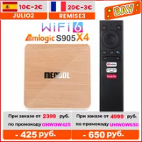 2021 Mecool KM6 Deluxe Wifi 6 Amlogic S905X4 4GB 64GB Androidtv 10.0 Google Certified AV1 BT5.0 1000M Set Top Box 4G 32G 2G 16G
