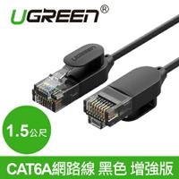 現貨Water3F綠聯 1.5M CAT6A網路線 黑色 增強版