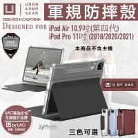 U UAG 耐衝擊保護殻 軍規 防摔殼 平板殼 保護套 適用於iPad Pro 11 2021 Air 10.9吋