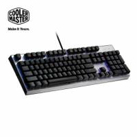 【CoolerMaster】Cooler Master CK351 機械式光軸 RGB 電競鍵盤 青軸(CK351 光軸)