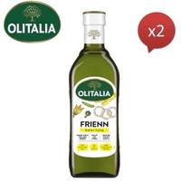 【Olitalia奧利塔】高溫專用葵花油(750mlx2瓶)