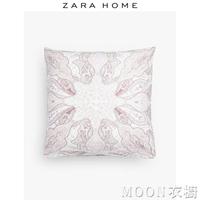 Zara Home 彩色佩斯利印花美式花紋枕套雙人用長枕 現貨快出