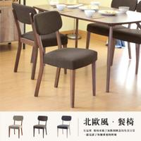 【RICHOME】北歐簡約風格實木餐椅/休閒椅/木椅(4色)