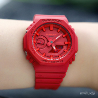 卡西歐G-SHOCK GA-2100-4A/2110SU-3A/TH-1A/THB-7A 電子男腕手錶 3WBc