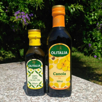 【Olitalia奧利塔】500ml單瓶 葵花油/芥花油/玄米油/葡萄籽油 500ml