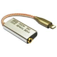 川木 新貨上架 lightning轉3.5mm 耳機音訊轉接頭 耳機擴大機 轉換線器 耳放解碼 iphone 蘋果