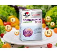 預售 德國 Doppelherz 輔酶 Q10 100mg +維生素系統膠囊 60粒