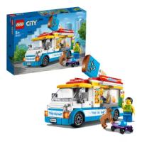 【LEGO 樂高】城市系列 冰淇淋車 60253 車子 角色扮演(60253)