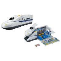 【PLARAIL 鐵道王國】超巨大新幹線N700S變形車站(PLARAIL鐵道王國)
