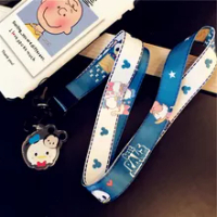 2021 Disney Mickey Minnie Dumbo โดนัลด์เป็ดโทรศัพท์มือถือสายคล้องคอสายคล้องสายคล้องคอ Squishy Lanyard Lanyard สายแขวน